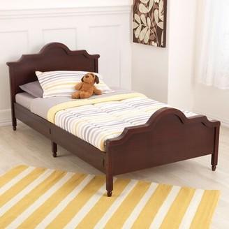 Kid Kraft Raleigh Twin Platform Bed Bed Frame Color: Espresso