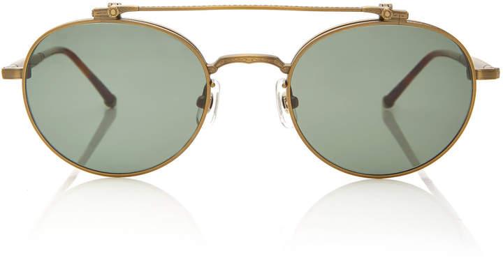 Gold Shopstyle Round Canada Sunglasses Men ZiPXku