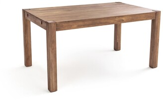 La Redoute Interieurs LUNJA Solid Pine Extendable Dining Table