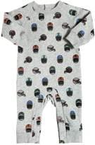 Stella McCartney Helmets Printed Cotton Sweatshirt Romper
