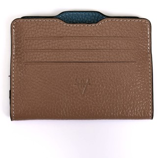 Atelier Hiva Double Card Holder Nude & Deep Blue