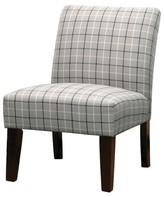 Threshold Slipper Chair Buffalo Plaid