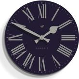 Newgate Clocks - Time Clock - Moon Blue - 50cm dia