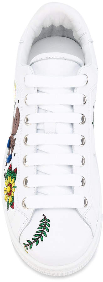 DSQUARED2 embroidered Tennis Club sneakers