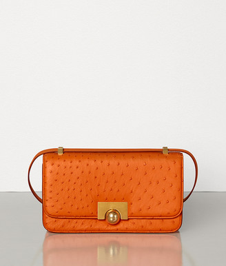 Bottega Veneta Classic Bag In Struzzo