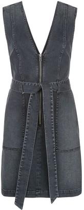 Alice + Olivia Alice+Olivia Gorgeous zip-through denim mini dress