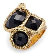 Saks Fifth Avenue Studded Ring- 1.25in