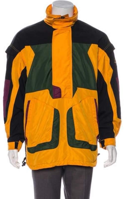 Descente Colorblock Pullover Jacket orange Colorblock Pullover Jacket