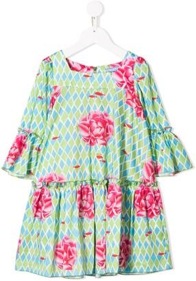 Mi Mi Sol Floral Print Dress