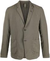 Transit lightweight buttoned blazer