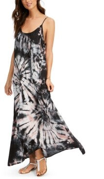 Raviya Tie-Dyed Maxi Dress Cover-Up Women's Swimsuit