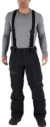 Obermeyer Force Suspender Pants (Black) Men's Outerwear