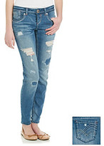 Hydraulic Juniors' Destructed Bailey Ankle Skinny Jeans