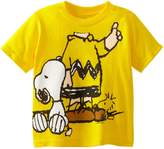 Peanuts Toddler Boys Charlie Headless Short Sleeve Tee