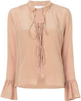 See by Chloe front-tied blouse