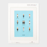Paul Smith Iconic Fashion Designers Part One Print By Le Duo For Image Republic