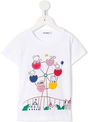 Familiar fair print T-shirt
