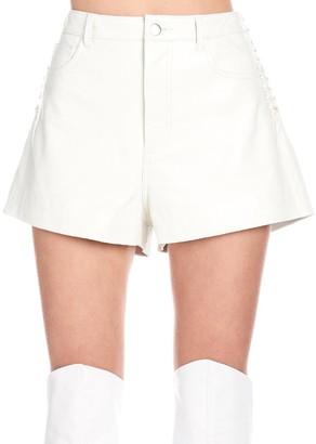 IRO Lace-Up Detail Shorts