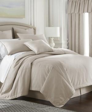 Colcha Linens Cambric Natural Duvet Cover-Full Bedding