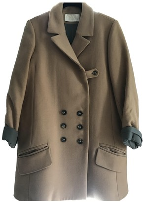 Chloé Camel Silk Coat for Women