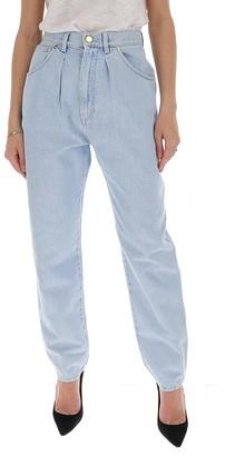 Alberta Ferretti High Rise Jeans