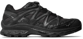 Salomon Xt-Quest Adv Mesh, Faux Leather, Ripstop And Rubber Running Sneakers