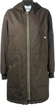 Kenzo military style parka coat - women - Cotton/Acetate - M