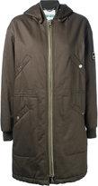 Kenzo military style parka coat