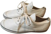 Comme des Garcons White Leather Trainers