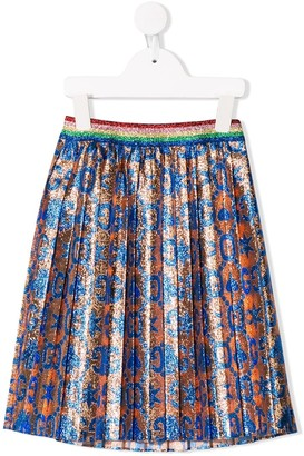 Gucci Kids GG jacquard skirt