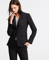 Ann Taylor Tall Tropical Wool Two Button Jacket