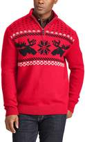 Chaps Men's Classic-Fit Fairisle Mockneck Sweater