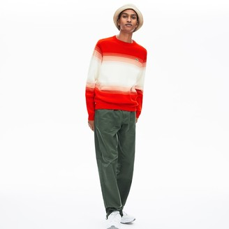 Lacoste Men's Made In France Degraded Cotton Crew Neck Sweater