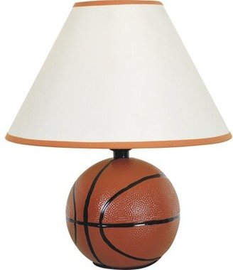 "Zoomie Kids Basketball 12"" Table Lamp"
