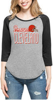 '47 Women's Cleveland Browns Club Block Raglan T-Shirt