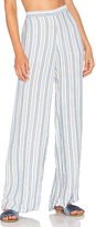 Onia Mila Wide Leg Pant in White. - size L (also in M,S)