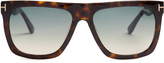 Tom Ford Morgan flat-top sunglasses