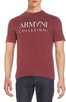 Armani Collezioni Graphic Logo Tee