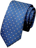 Baishitop Man's Classic Business Casual Spun Silk Neckties Accessories Tie
