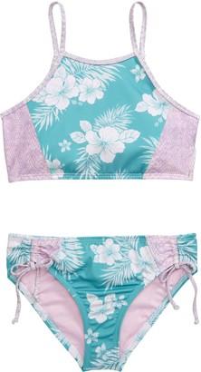 Heart And Harmony Luau Two-Piece Swimsuit