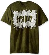 The Mountain Men's Colorwear Letters and Words 2 Grow Adult Coloring T-Shirt