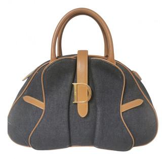 Christian Dior Saddle Bowler Blue Denim - Jeans Handbags