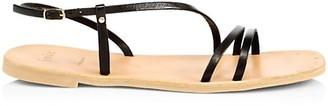 Joie Baja Flat Leather Slingback Sandals