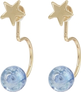 Accessorize Mystic Ball Ear Jacket Earrings