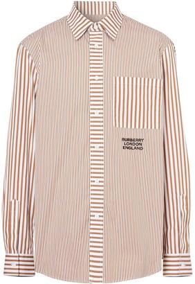 Burberry Multi-Stripe Shirt