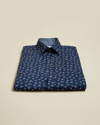Ted Baker Floral Cotton Shirt