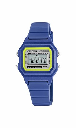 Calypso Unisex's Digital Quartz Watch with Plastic Strap K5802/5