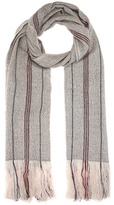 Isabel Marant Alva Wool And Cashmere Scarf