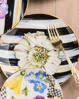 Mackenzie Childs MacKenzie-Childs The Bride Thistle & Bee Salad Plate