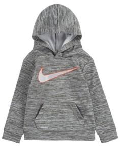 Nike Toddler Boys Metallic Swoosh Dri-Fit Hoodie